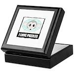 I LOVE PUZZLES Keepsake Box