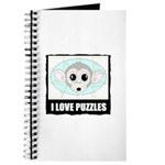 I LOVE PUZZLES Journal