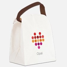 I Heart Opal Canvas Lunch Bag