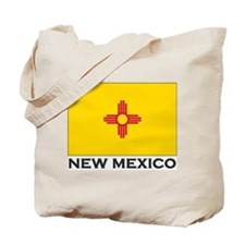 New Mexico Flag Stuff Tote Bag