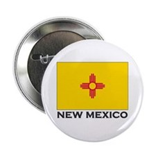 New Mexico Flag Stuff Button