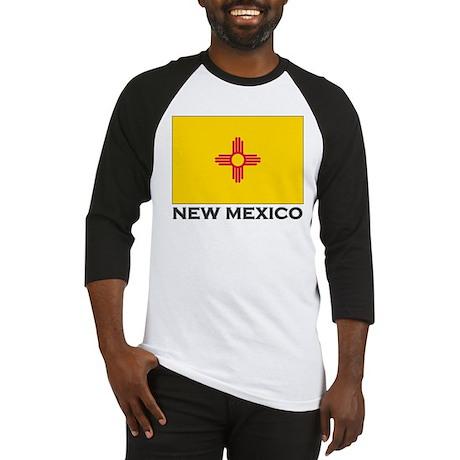 New Mexico Flag Stuff Baseball Jersey