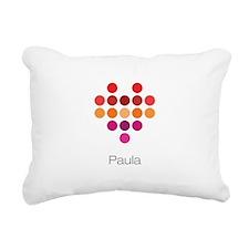 I Heart Paula Rectangular Canvas Pillow