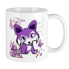 Purple Corgi Manga Mug
