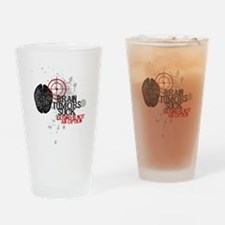 Losing is Not an Option Drinking Glass