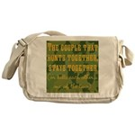 Hunt Together Messenger Bag
