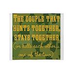 Hunt Together Throw Blanket