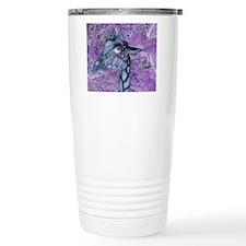 Pretty Purple Giraffe Travel Mug