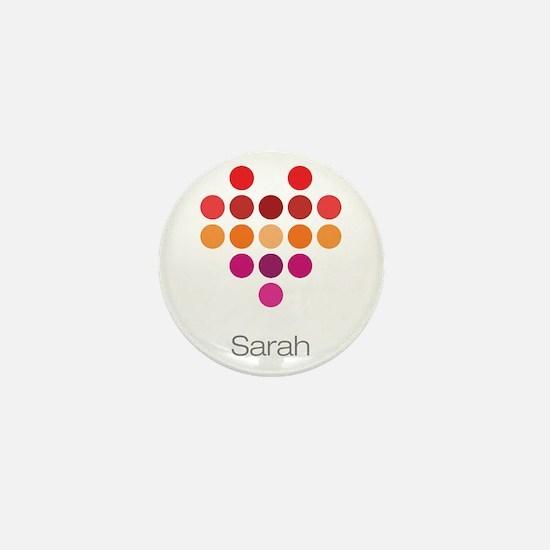 I Heart Sarah Mini Button