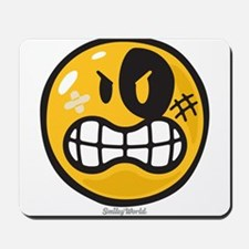 Aggression Smiley Mousepad