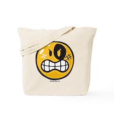 Aggression Smiley Tote Bag