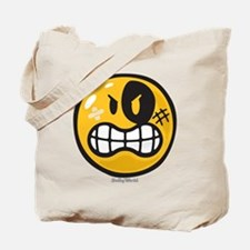 Aggression Smiley Tote Bag