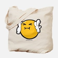 Harassed Smiley Tote Bag