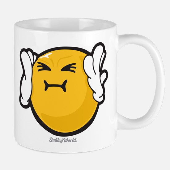 Harassed Smiley Mug