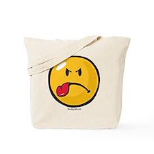 Sour Smiley Tote Bag