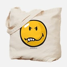 Vexed Smiley Tote Bag