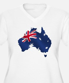 Australia Plus Size T-Shirt