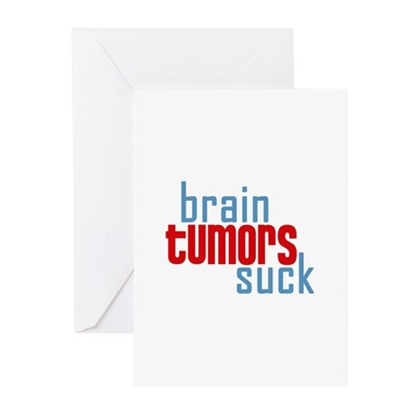 Brain Tumors Suck Greeting Cards (Pk of 20)