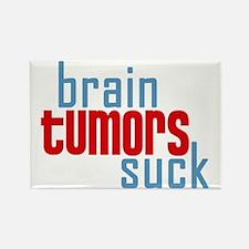 Brain Tumors Suck Rectangle Magnet