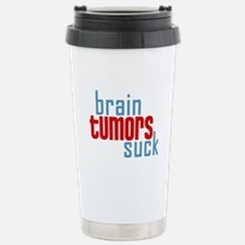 Brain Tumors Suck Travel Mug
