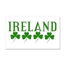Ireland Shamrocks Car Magnet 20 x 12