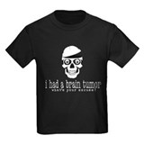 Funny cancer Kids T-shirts (Dark)