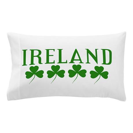 Ireland Shamrocks Pillow Case