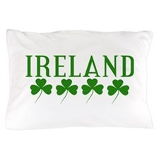 Ireland Shamrocks Pillow Case