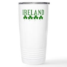 Ireland Shamrocks Travel Mug