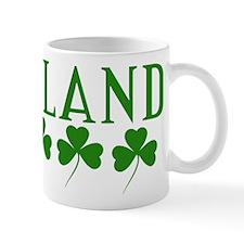 Ireland Shamrocks Mug