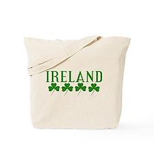 Ireland Shamrocks Tote Bag