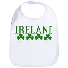Ireland Shamrocks Bib