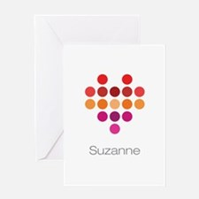 I Heart Suzanne Greeting Card