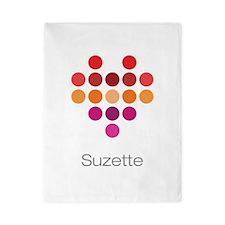 I Heart Suzette Twin Duvet