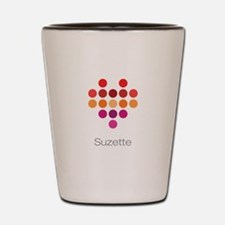 I Heart Suzette Shot Glass