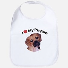 love_puppy.jpg Baby Bib