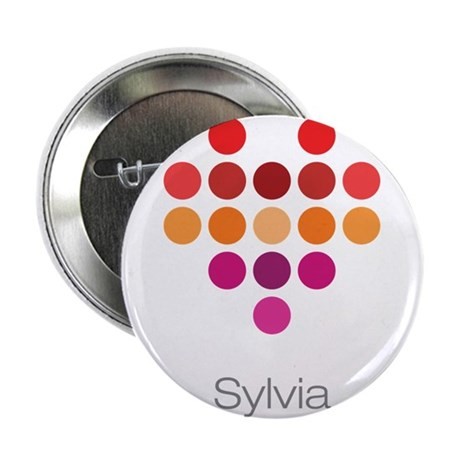 """I Heart Sylvia 2.25"""" Button (10 pack)"""