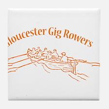 Gloucester Gig Rowers Tile Coaster