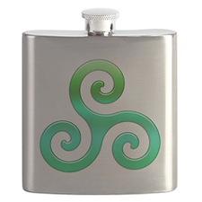 Triskele-Symbol 4 Flask