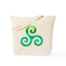 Triskele-Symbol 4 Tote Bag