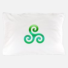Triskele-Symbol 4 Pillow Case