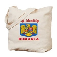 My Identity Romania Tote Bag