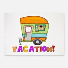 vacation.png 5'x7'Area Rug