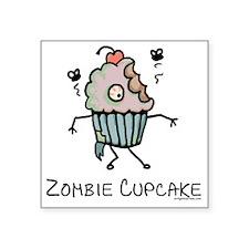 Zombie cupcake Sticker