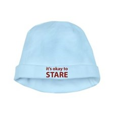 It's okay to stare baby hat