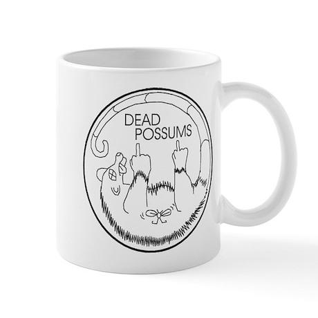 Dead Possums Logo Mugs