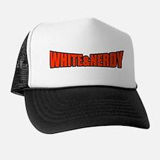 White & Nerdy Trucker Hat