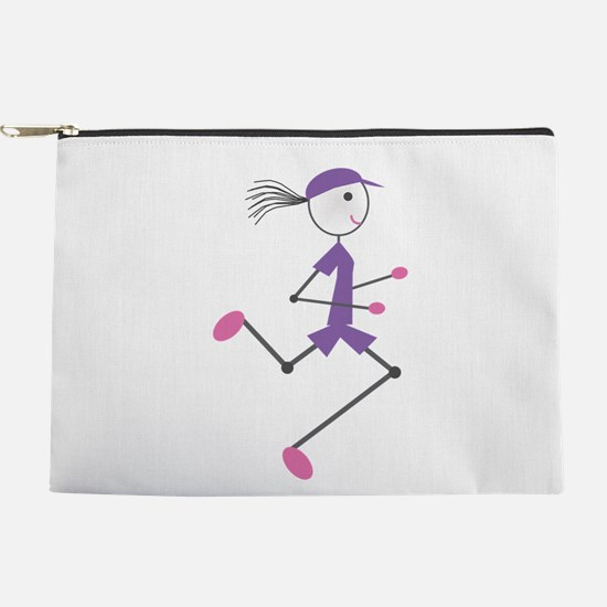 Lady Runner Makeup Pouch