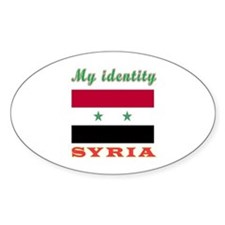 My Identity Syria Decal