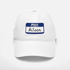 Hello: Aileen Baseball Baseball Cap